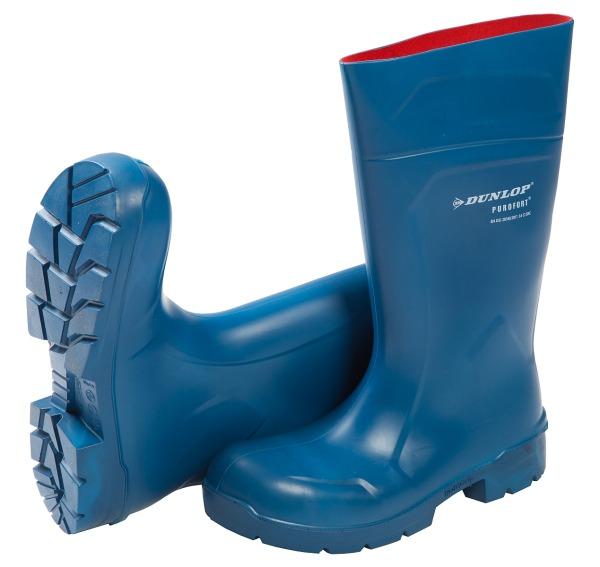 Sicherheitsstiefel S4 Purofort Dunlop blau