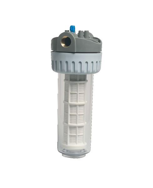 Wasserfilter mit Klarglas