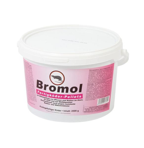 Bromol Fertigköder-Pellets