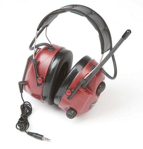 Peltor Gehörschutz mit eingebauten Radio