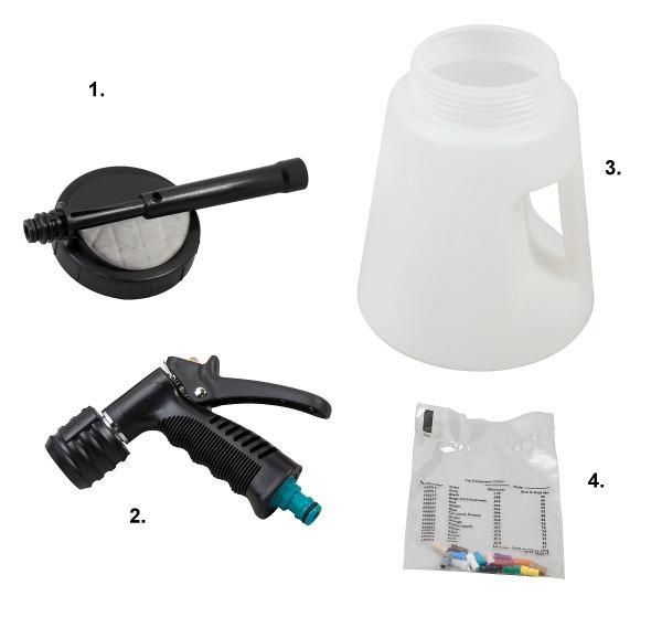 Desinfektionsspritze Ersatzteile