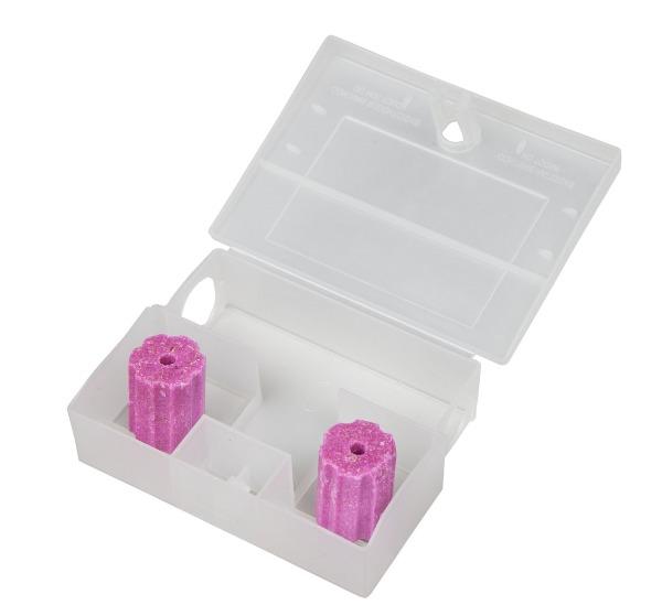 transparente Mäuseköderbox offen