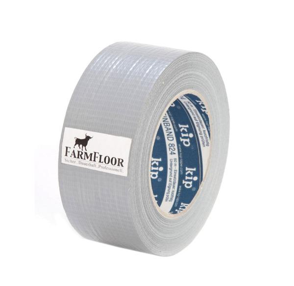 Randklebeband silber für unsere FarmFloor Produkte