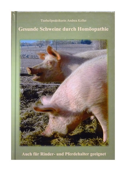 Buch Gesunde Schweine durch Homöopathie