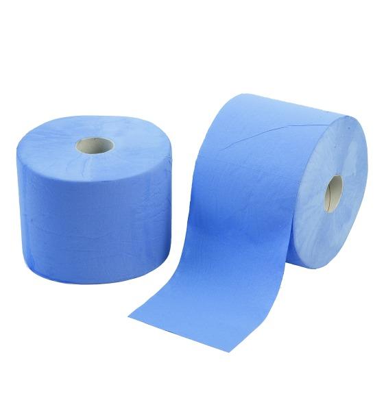 Papierrollen blau